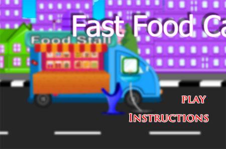 เกมทำอาหาร Fast food car
