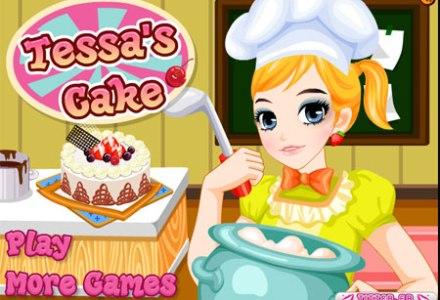 เกมส์แต่งหน้าเค้กผลไม้ : เกมส์ทำเค้ก