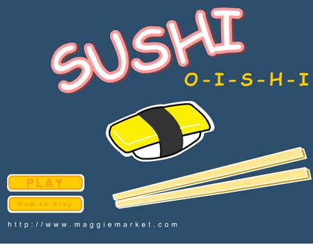 เกมส์ซูชิบาร์ SUSHI OISHI