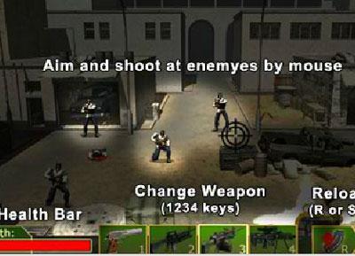 เกมส์ยิง - เกมส์ยิงหน่วยต่อต้านผู้ก่อการร้าย