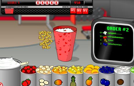 เกมส์ทําอาหาร เกมส์ทําอาหาร - เกมส์ขายน้ำผลไม้ปั่น Smoot Froothie